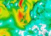 Il forte vento che attende le Isole Britanniche. Mappa GFS MeteoNetwork
